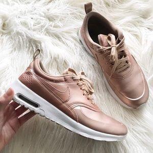 | Nike | rose gold sneakers
